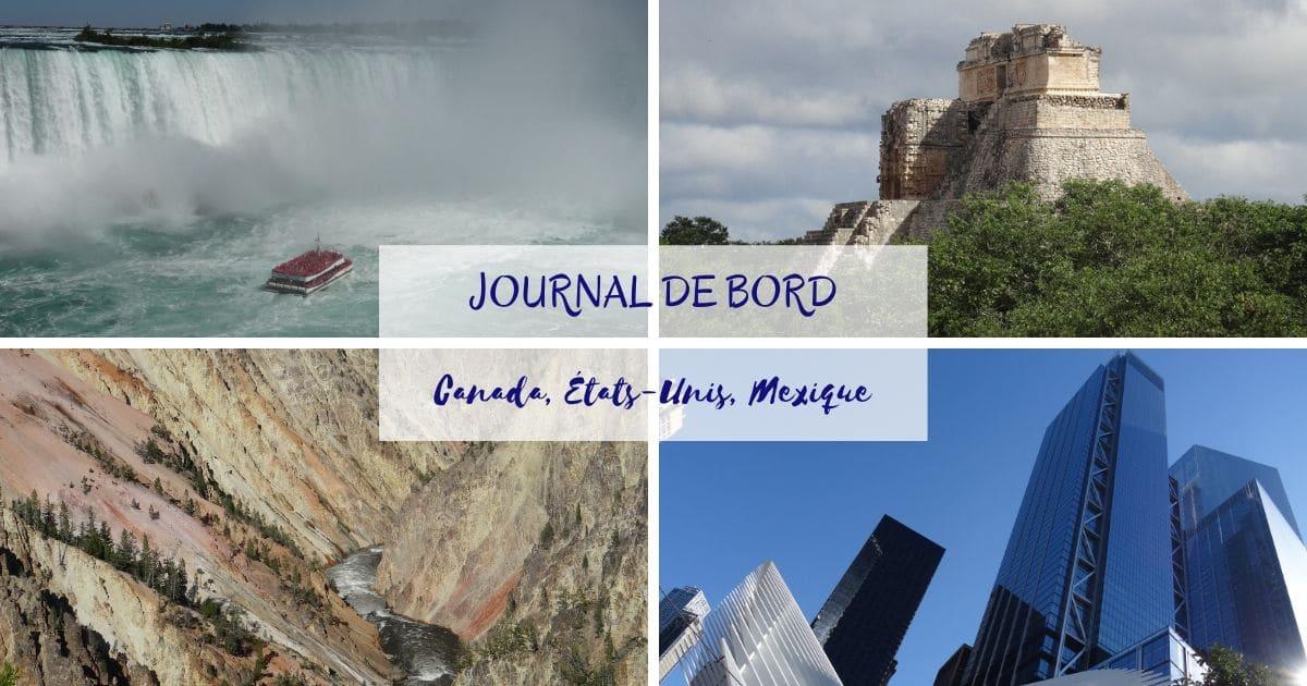À la Une : Journal de bord - 1 an en Amérique